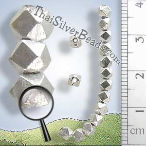 Silver Bead  - Spacer Bead - B0175 - (1 Piece)_1