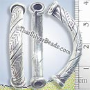 Silver-Bead - Tube - BSB0340- (1 Piece)