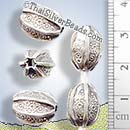 Silver Bead - Print - BSB0546- (1 Piece)
