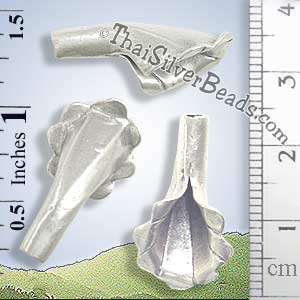 Silver Bead - Cap Bead - BSB0116- (1 Piece)_1