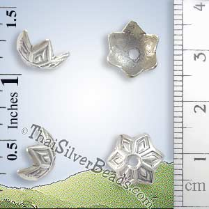 Silver Bead - Cap Bead - BSB0141- (1 Piece)_1