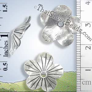 Silver-Bead - Cap-Bead - BSB0156- (1 Piece)_1