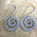 Spiral Hill Tribe Earrings