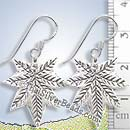 Maple Leaf Silver Earrings - Earp0007