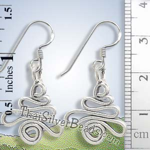 Funky Silver Earrings - Earp0195_1